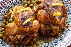 Selling: Djaj Mhamar aux olives et citron confit 2 poulets