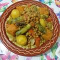 Selling: Couscous à la viande et légumes pour 10 personnes